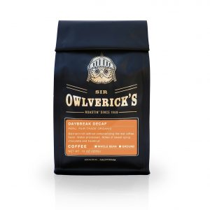 owlverick's decaf coffee